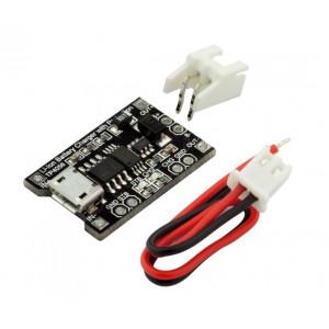 TP4056 — Модуль зарядки/Зарядное устройство с защитой для li-ion аккумуляторов
